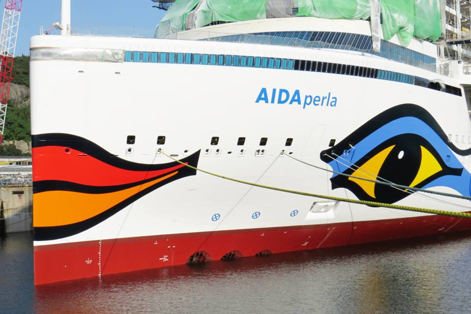 AIDAperla (Hyperion Cruise Ship)