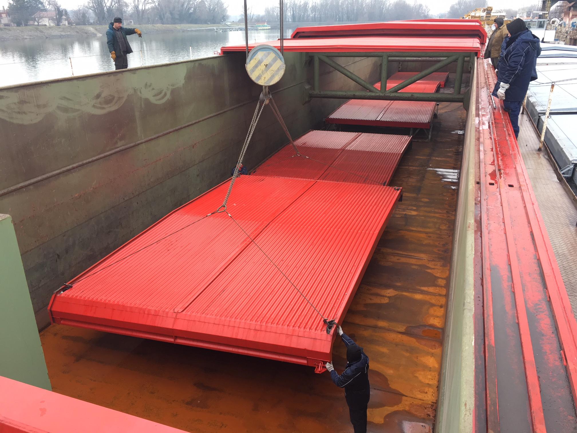 SLJ17020 (Barge Ship)